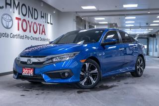 Used 2016 Honda Civic Sedan Touring for sale in Richmond Hill, ON