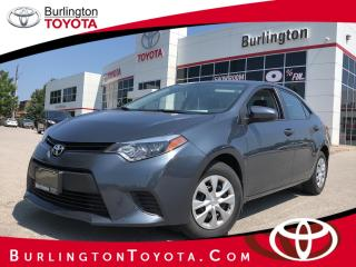 Used 2015 Toyota Corolla CE for sale in Burlington, ON