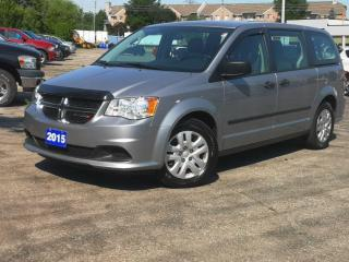 Used 2015 Dodge Grand Caravan 4dr Wgn Canada Value Package | Low Km's for sale in Waterloo, ON