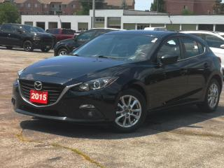 Used 2015 Mazda MAZDA3 4dr HB Sport Auto GS | Sunroof | Heated Seats for sale in Waterloo, ON