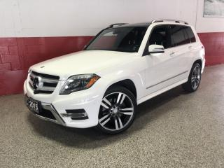 Used 2015 Mercedes-Benz GLK-Class GLK250 BlueTec 4MATIC NAVI 360 CAMERA PANO-ROOF for sale in North York, ON