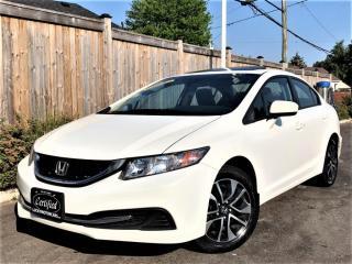 Used 2015 Honda Civic Sedan EX AUTOMATIC-SUNROOF-BACKUP/SIDE CAMERA-BLUETOOTH-115KMS for sale in Toronto, ON