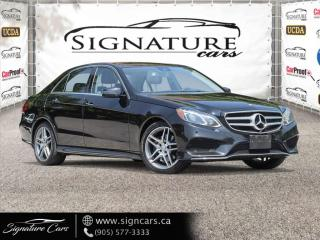 Used 2016 Mercedes-Benz E-Class E400 4MATIC. AMG PKG. NO ACCIDENT. CLEAN CARFAX. for sale in Mississauga, ON