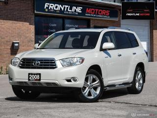 Used 2008 Toyota Highlander 4WD 4dr Limited for sale in Scarborough, ON
