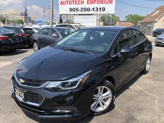 Used 2016 Chevrolet Cruze LT Auto Navigation/Camera/Alloys/Heated Seats for sale in Mississauga, ON