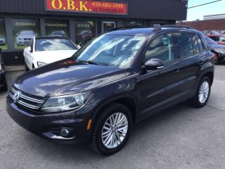 Used 2016 Volkswagen Tiguan 4MOTION-Spec Edition TOIT PANO- CAMERA- NAVIGATION for sale in Laval, QC