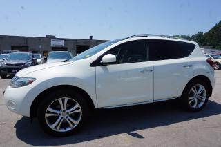 Used 2009 Nissan Murano LE AWD Navigation Camera Leather Panoramic Sunroof Certified 2 Year Warranty for sale in Milton, ON