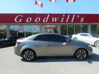 Used 2012 Kia Forte Koup SX! HEATED LEATHER SEATS! SUNROOF! for sale in Aylmer, ON