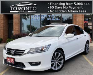 Used 2015 Honda Accord Sport Sedan CVT Heated Seats for sale in North York, ON