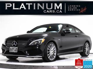 Used 2017 Mercedes-Benz C-Class AMG C43 4MATIC, 362HP, NAV, BURMESTER, PANO, CAM for sale in Toronto, ON