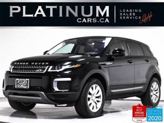 Used 2017 Land Rover Evoque SE AWD, NAV, PANO, CAM, HEATED SEATS, BLUETOOTH for sale in Toronto, ON