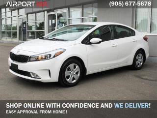 Used 2017 Kia Forte LX+/ No Accident Off Lease/Heated seats/ Back-up Camera/ Android Auto Apple Car Play/ Bluetooth / Power package for sale in Mississauga, ON