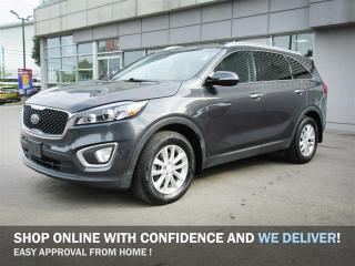 Used 2016 Kia Sorento 2.4L LX FWD / Off Lease/No Accidents/Heated front seats/Back-Up sensor/Bluetooth/Power Package for sale in Mississauga, ON