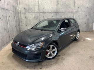 Used 2016 Volkswagen Golf GTI AUOMATIQUE DSG * BLUETOOTH , SIEGES CHAUFFANT * CARPLAY * CAMERA for sale in St-Nicolas, QC