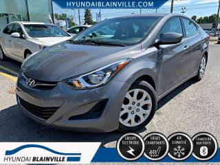 Used 2014 Hyundai Elantra GL DÉMARREUR DISTANCE, BLUETOOTH, BANCS for sale in Blainville, QC