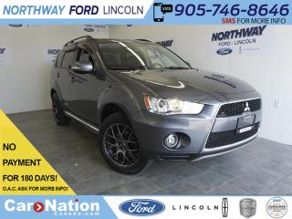 Used 2012 Mitsubishi Outlander GT | 4X4 | LEATHER | SUNROOF | NAV |7 PASS |51 KM! for sale in Brantford, ON