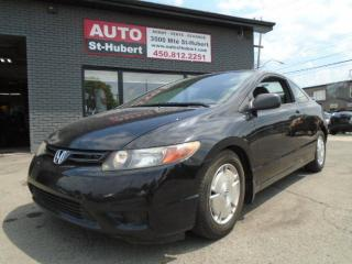 Used 2008 Honda Civic COUPE DX-G for sale in St-Hubert, QC
