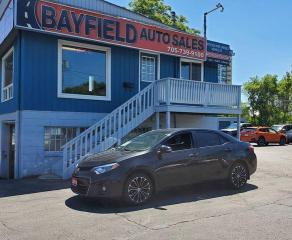 Used 2015 Toyota Corolla S **Auto/Leather/Sunroof/Navigation** for sale in Barrie, ON