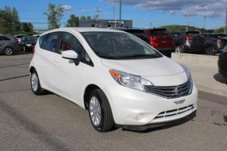 Used 2015 Nissan Versa Note SV MANUELLE CAMÉRA*AIR*MAIN LIBRE for sale in Lévis, QC