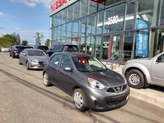Used 2017 Nissan Micra SV AUTOMATIQUE MAIN LIBRE*AIR for sale in Lévis, QC