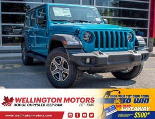New 2020 Jeep Wrangler UNLIMITED SPORT for sale in Guelph, ON