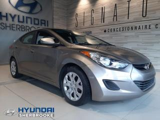 Used 2013 Hyundai Elantra GL+AIR CLIMATISÉ+BLUETOOTH+CRUISE for sale in Sherbrooke, QC