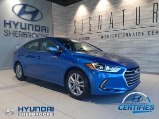 Used 2018 Hyundai Elantra GL+CAMERA+VOLANT/BANCS CHAUFF for sale in Sherbrooke, QC