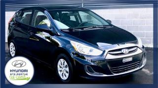 Used 2015 Hyundai Accent Voiture à hayon, A/C, 5 portes, boîte ma for sale in Val-David, QC