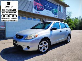Used 2005 Toyota Matrix XR,XR for sale in Orillia, ON