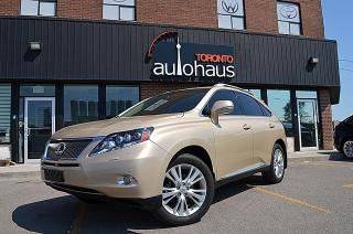 Used 2010 Lexus RX 450h/Ultra Premium/2XDVD/LDW/BSM/HUD for sale in Concord, ON