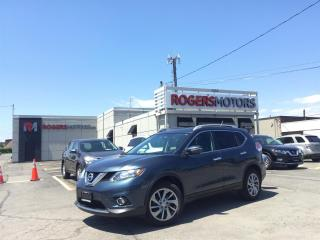 Used 2014 Nissan Rogue 2.99% Financing - SL AWD - NAVI - PANO ROOF - 360 CAMERA for sale in Oakville, ON