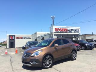 Used 2016 Buick Encore 2.99% Financing - SPORT TOURING - SUNROOF - REVERSE CAM for sale in Oakville, ON