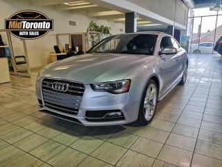 Used 2015 Audi S5 PROGRESSIVE | Coupe | Quattro | Navigation | Power Roof | No Accidents for sale in North York, ON