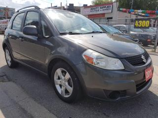 Used 2011 Suzuki SX4 JX-EXTRA CLEAN-AWD-AUX-ALLOYS-MUST SEE!!! for sale in Scarborough, ON