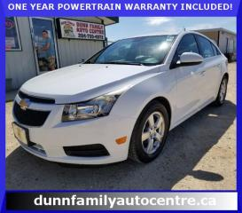 Used 2013 Chevrolet Cruze LT Turbo for sale in Dugald, MB