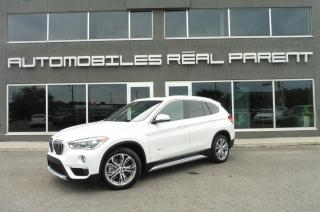 Used 2016 BMW X1 XDRIVE 28I - TOIT PANO - CAMERA -72 710 KM - for sale in Québec, QC
