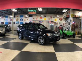 Used 2016 BMW X3 3.5I XDRIVE SPORT  NAVI PKG AWD LEATHER PANO/ROOF CAMERA for sale in North York, ON