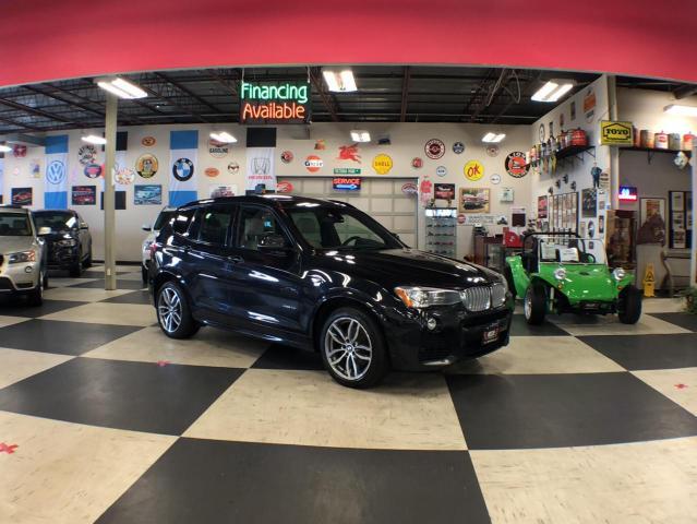 2016 BMW X3 3.5I XDRIVE SPORT  NAVI PKG AWD LEATHER PANO/ROOF CAMERA