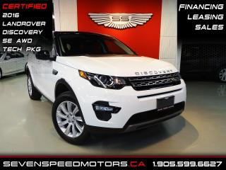 Used 2016 Land Rover Discovery Sport LUXURY| CERTIFIED | NAVI | OFF LEASE | FINANCE @4.65% for sale in Oakville, ON