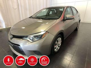 Used 2016 Toyota Corolla LE - BLUETOOTH - SIÈGES CHAUFFANTS for sale in Québec, QC
