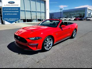 Used 2019 Ford Mustang GT PREMIUM CONVERTIBLE for sale in Victoriaville, QC