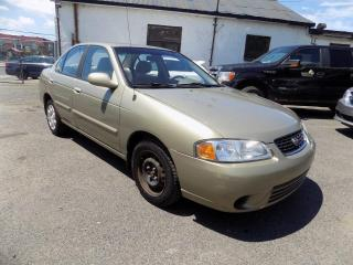 Used 2001 Nissan Sentra ***GXE,AUTOMATIQUE,BAS KILO*** for sale in Longueuil, QC