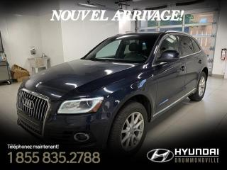 Used 2014 Audi Q5 PROGRESSIV + GARANTIE + NAVI + TOIT + WO for sale in Drummondville, QC