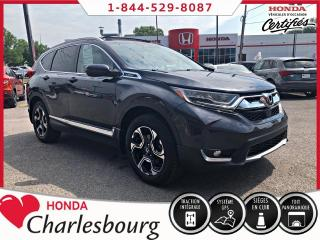 Used 2017 Honda CR-V TOURING AWD **TOIT PANORAMIQUE** for sale in Charlesbourg, QC