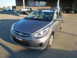 Used 2017 Hyundai Accent 4dr Sdn Man L,RADIO AM/FM for sale in Mirabel, QC