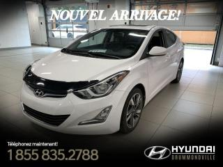 Used 2016 Hyundai Elantra GLS + GARANTIE + MAGS + TOIT + WOW! for sale in Drummondville, QC