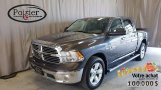 Used 2017 RAM 1500 SLT Bas kilométrage for sale in Rouyn-Noranda, QC