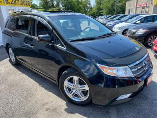 Used 2012 Honda Odyssey TOURING/ NAVI/ CAM/ DVD/ LEATHER/ SUNROOF/ ALLOYS+ for sale in Scarborough, ON
