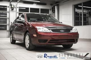 Used 2006 Ford Focus ZX4 chex Rimouski Hyundai for sale in Rimouski, QC