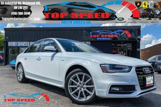 Used 2015 Audi A4 PROGRESSIV PLUS / S-LINE / FULLY LOADED / SUNROOF for sale in Richmond Hill, ON